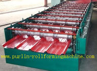 Best High Speed 0 - 20m / min Roofing Panel Roll Forming Machine For Roof Tile for sale