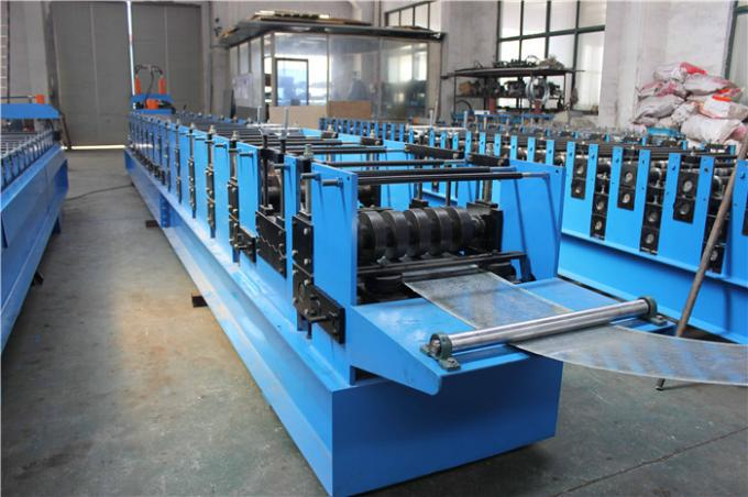 PLC Control Speed 5m/min Glazed Tile Roll Forming Machine 18 Stations